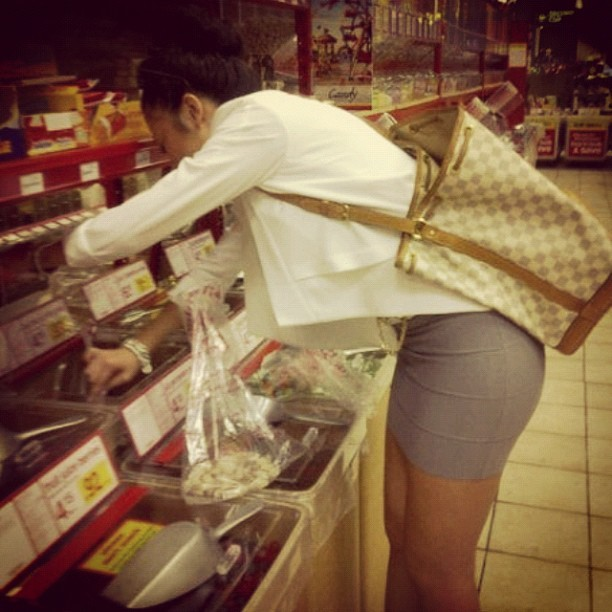im just a big girl in a #candyshop hahaha #ootd #bcbg #lv (Taken with Instagram)