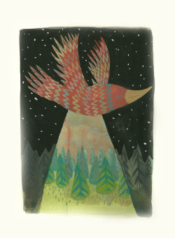 oddmomentscollide:  Night Bird/99 creatures