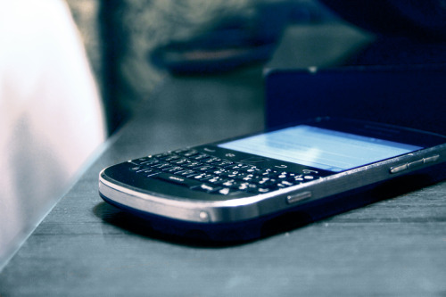 My blackberry <3