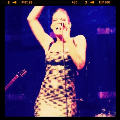 She Is Killing Me ::: #goapele #worldcafelive #neosoul #live #love #starstruck #philly ::: 🎤😁😌☺🎤 (Taken with Instagram)