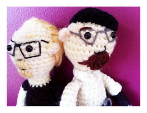 gamingurumi:  Mythbusters amigurumi by haikugirloz on Flickr.