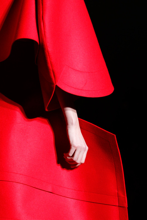 orgasmic-fashion-colours:  amourir:  Comme Des Garcons - Fall 2012.
