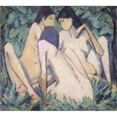 Otto Müller - Three Girls in a Wood