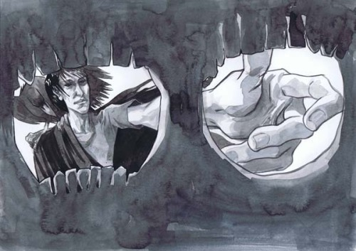 The Sandman (Movie Pitch) by Jill Thompson (via Cadence Comic Art)