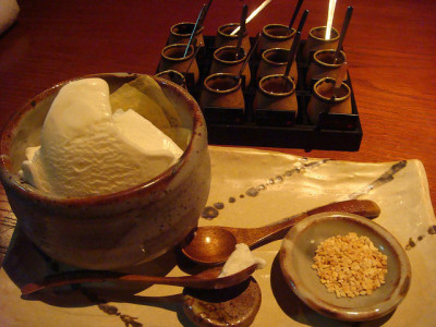 Tsubaki Dessert by Kat n Kim on Flickr.
