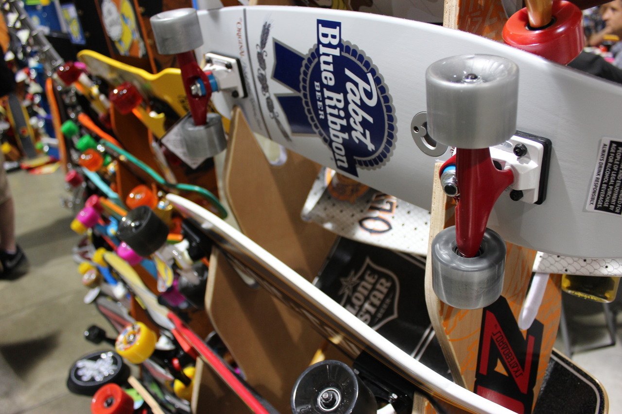 PBR skateboards. Hipsters just came so hard.