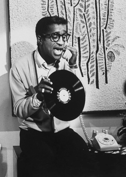 vinylespassion:  Sammy Davis Jr.