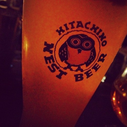 Hitachino Nest White Ale, one of my fave #beers of #witbeir family (Taken with Instagram at Union Hall)