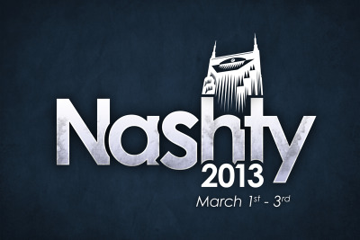 nashvillenashty:  nashvillenashty:  Nashville Nashty 2013 will be March 1st - 3rd. Mark your calendars! Soon you'll be able to register.  Reblogging for the morning crowd. Mark your calendar, the Internet is taking over Music City March 1-3, 2013!  Even though this is right at the start of Spring, I'm going to do my best to be there with some seed swag or t-shirts or somethin'.