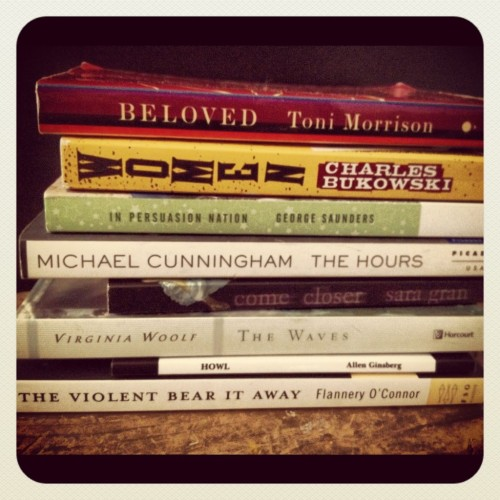 """Bookspine Poetry"" via Comb Magazine"