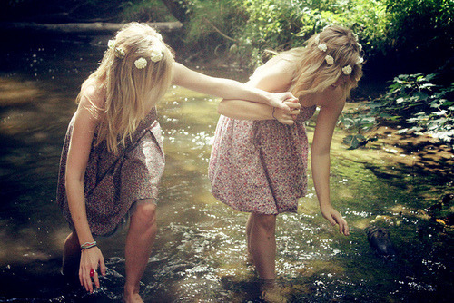 "Narcissa Black helping Lucinda Talkalot out of the Black Lake. Taken by Rodolphus Lestrange. ""Lucius, I feel the need to point out a new budding friendship."" ""I can see it Rodolphus."" ""Where are you going?"" ""Far away. Anything that happens between those two cannot end well for me.""  Marauders Era Many roles still open! Join us!"