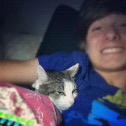 I miss my cat so much! :'( I want another one so bad!