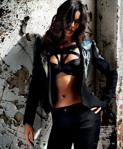 Michelle Rodriguez for InStyle Russia