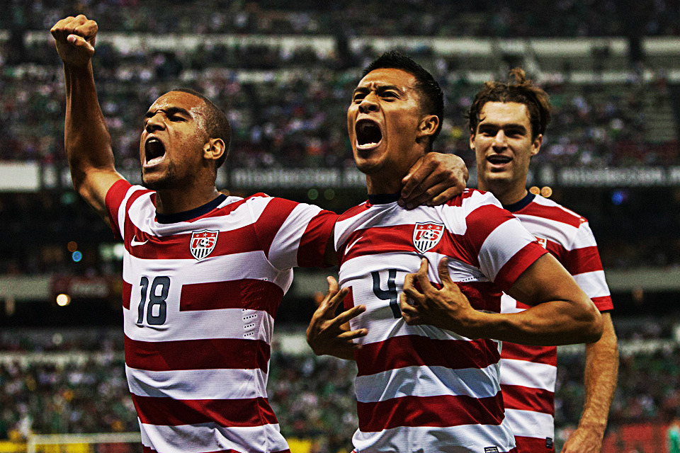 The USMNT made history tonight! Michael Orozco Fiscal's second half goal gave the US their first ever win over Mexico on Mexican soil!