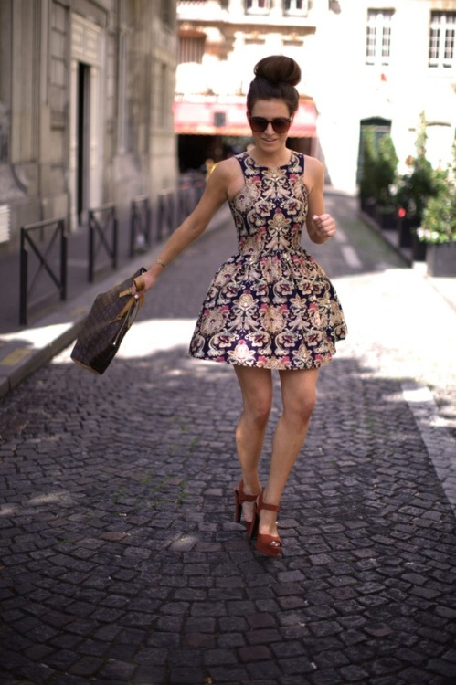 Fun fit with a mature print My Style Picks: http://pinterest.com/breonam/