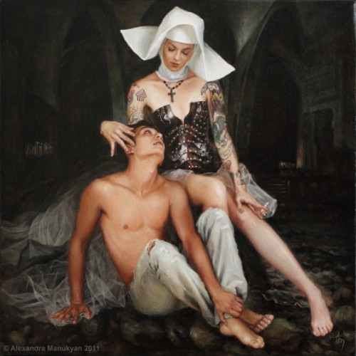 Paintings by Alexandra Manukyan