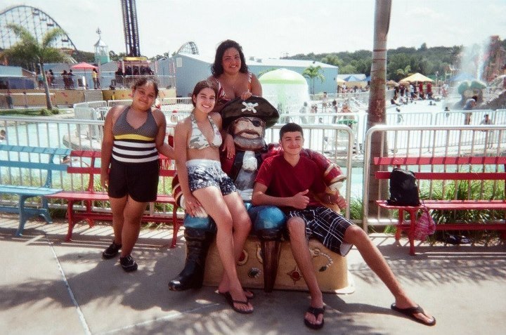 @ Clementon Park with the Gerena Family<3