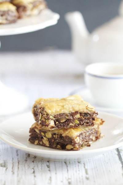 fuckyeahdessert:  Nutella Baklava (Click through for recipe)