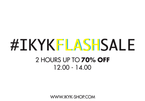 #IKYKFLASHSALE WILL START VERY SOON! READY?