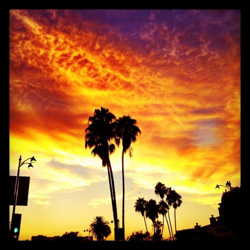 Another good one, LA #summer #sunset (Taken with Instagram at NBCUniversal)