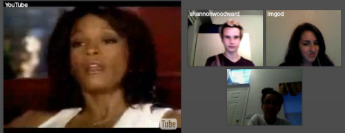 I forgot to post this. Yes, we tinychatted with Whitney.