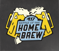 "Logo and branding project for the ""417 Magazine Battle of the Home Brew"" competition."