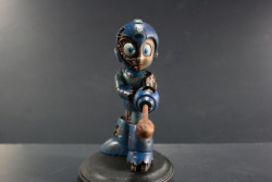 Battle Damaged Mega Man by Donald Kennedy / Kodykoala