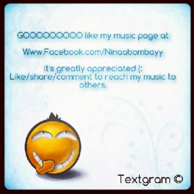 #NewArtist #NewMusic #Ninaabombayy #textgram #2012 #FOS #life #happiness #joy (Taken with Instagram)