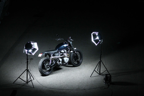 "Scrambler ""Dirty Deeds"" by JvB-moto"