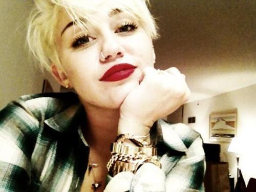 We're really split on whether we like Miley's new hair or not. It is pretty badass and shows so much confidence, but just knowing she could be walking down the aisle with this is sort of strange (plus we love the classic Miley too). What do you think?