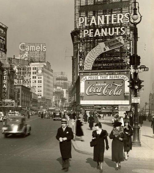 juliaboganyuk:  New-York, 1936