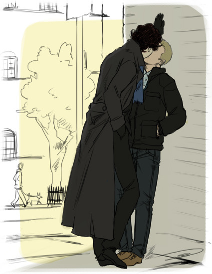 reapersun:   I just want kisses. Kisses in trench coat on street corners.— kitykat1993