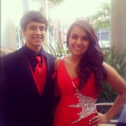 Me and my prom date. #throwbackthursday #prom 💃 @torreza2  (Taken with Instagram)