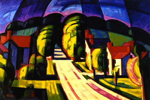 (via RaShOmoN) Oscar Bluemner