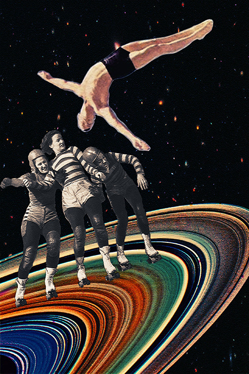 "eugenialoli:  ""Unavoidable Collision"" by Eugenia Loli"