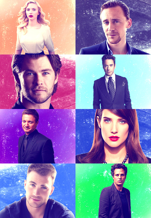 lisbethrooney:  THIS MOVIE IS FULL OF BEAUTIFUL PEOPLE | The Avengers (2012)