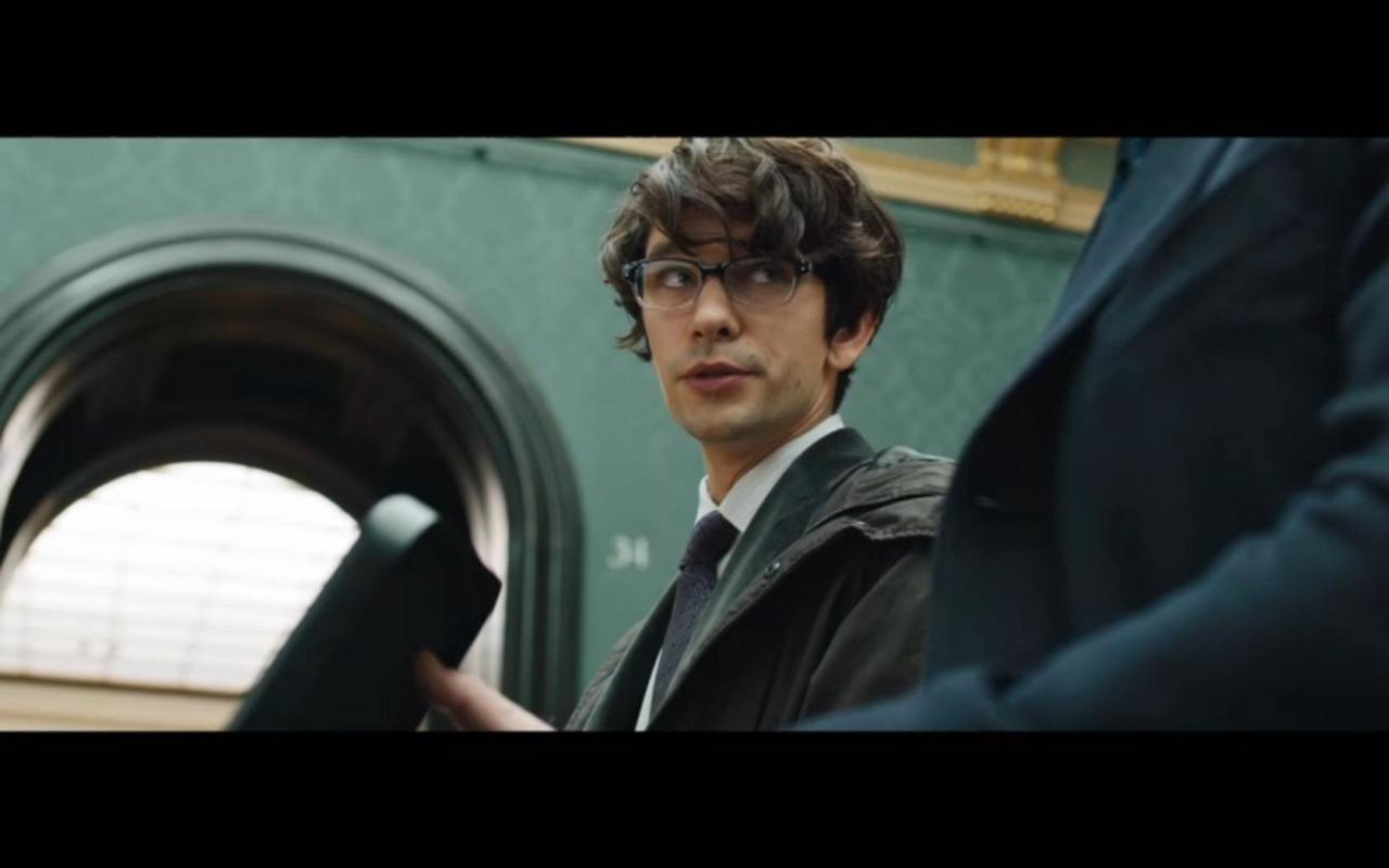 thefilmboutique:  Ben Whishaw in the next Bond movie, Skyfall.  I. Can't. Wait.