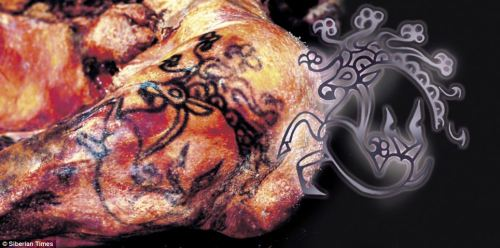 (via The astonishing 2,500 year old tattoos of a Siberian princess - and how little has changed in the art | Mail Online)