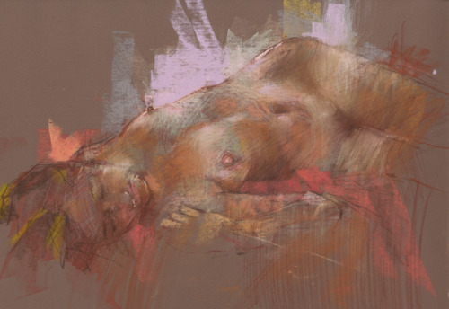 unfinished pastel by ~derekjones
