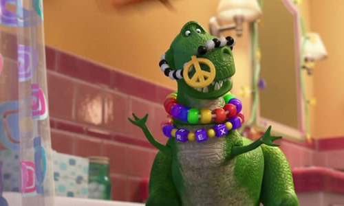 First clip from new Toy Story short Partysaurus Rex: watch now The latest Toy Story short, Partysaurus Rex, has released a first sneak-peak clip online, featuring Rex the dinosaur making some new friends with Bonnie's bath toys…