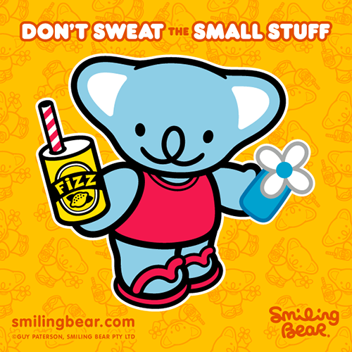 smilingbear:  Don't sweat the small stuff! Download this image as a free desktop wallpaper here: http://bit.ly/SB_DT_WALLP