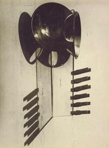 archives-dada:  Man Ray, Integration of Shadows (Intégration des ombres); Ancien titre donné par l'artiste : Objects of my Affection (Objets de mon affection), 1919, Epreuve gélatino-argentique, 23,9 x 17,6 cm, Paris, Centre Pompidou MNAM