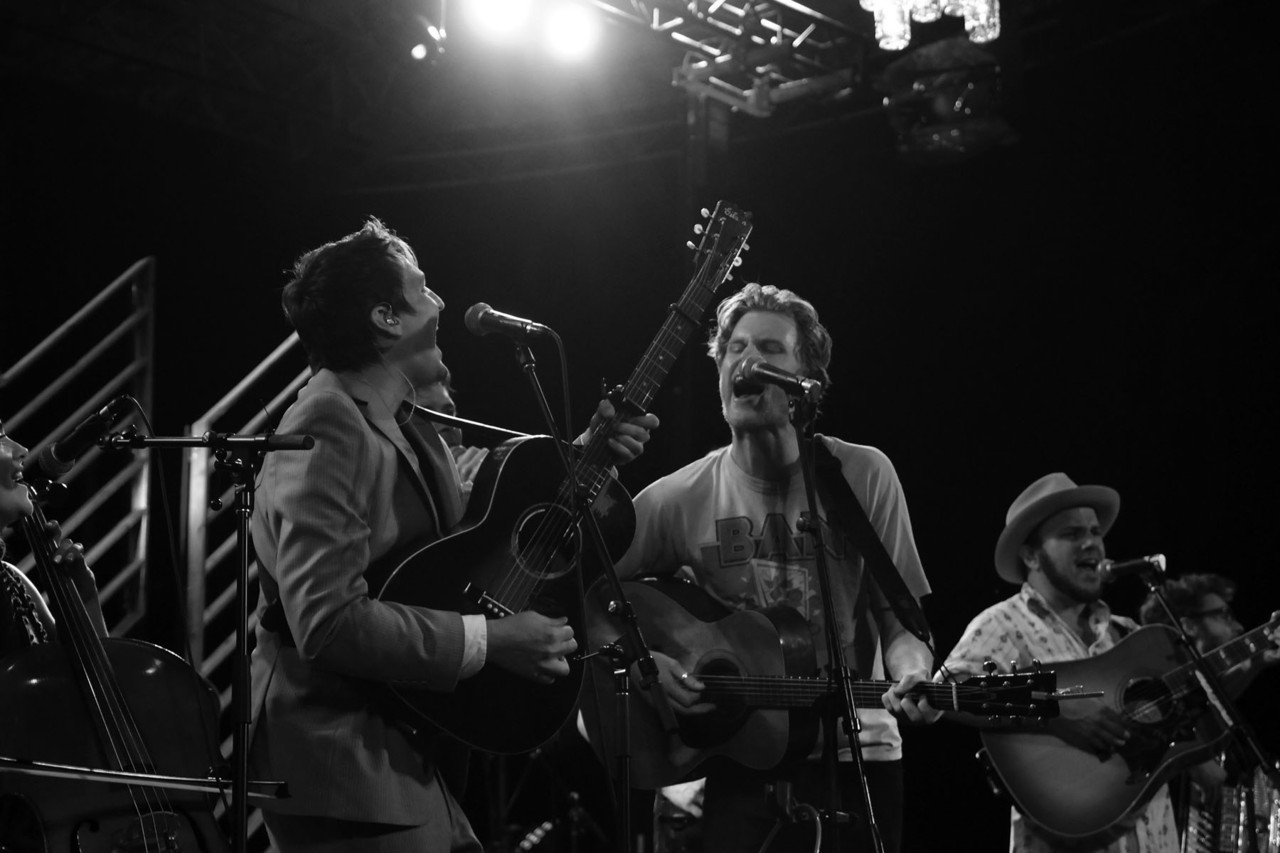 6 August 2012.  The Milk Carton Kids, The Lumineers & Old Crow Medicine Show.  New York, NY Photographer Sacha Lecca