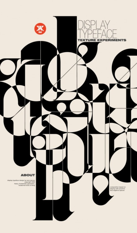 "morningtype:  Aron Jancso - ""Positive/Negative"""
