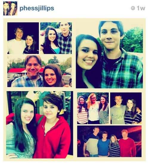 perksofbeinganinfinitewallflower:  A lucky fan meeting the cast of 'Perks'