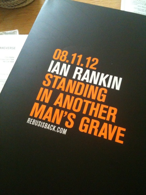 REBUS IS BACK Writer Ian Rankin's first Rebus novel in five years will be published in November.On Wednesday, the author tweeted to announce the date of the new novel, Standing in Another Man's Grave, would be on November 8. He included a picture of a proof copy of the book. The first Rebus novel, Knots and Crosses was published in 1987 and over the next 20 years 18 books featuring the Lothian and Borders Police Detective were published. When the fictional policeman turned 60 in 2007, he retired in Exit Music, which was thought to have been the last Rebus novel. But in June, Rankin announced he would be bringing the detective back. The author has said in interview he knew exactly where his famous character was, working in the cold case unit at Fettes. The new novel brings Rebus together with Rankin's latest character Malcolm Fox from the internal affairs unit. The other popular characters from Rebus novels, Siobhan Clarke and gang boss Big Ger Cafferty, will also feature. The Rebus series accounts for 10% of sales of crime novels in the UK and each book sold an average of half a million copies within the first three months of publication.