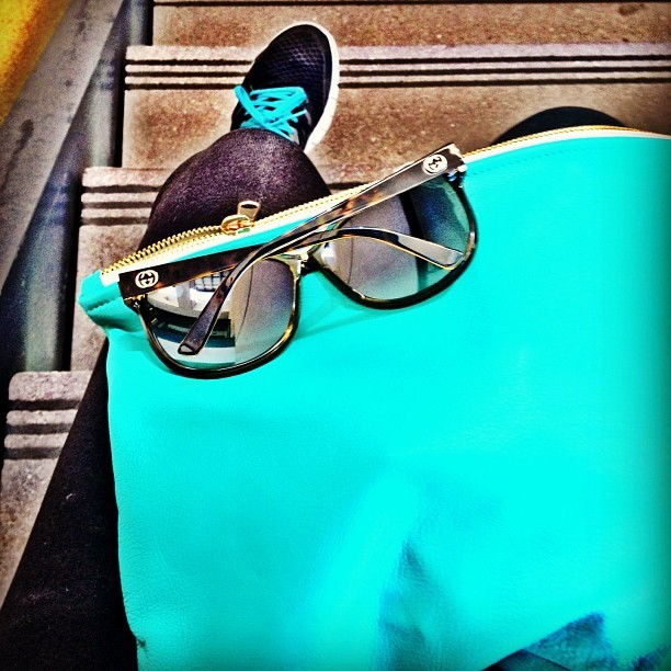 Turquoise (Taken with Instagram at UCSB)