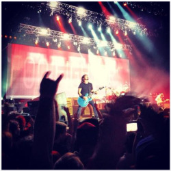 PHOTO: Foo Fighters in Prague last night, taken by Songkicker gizmax
