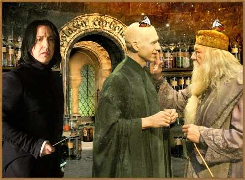 This is wrong potion! Severus Snape made a mistake))