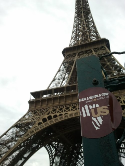 Tour Eiffel, Paris - France.Spotted US? Send your picture. Check album@US_Africa